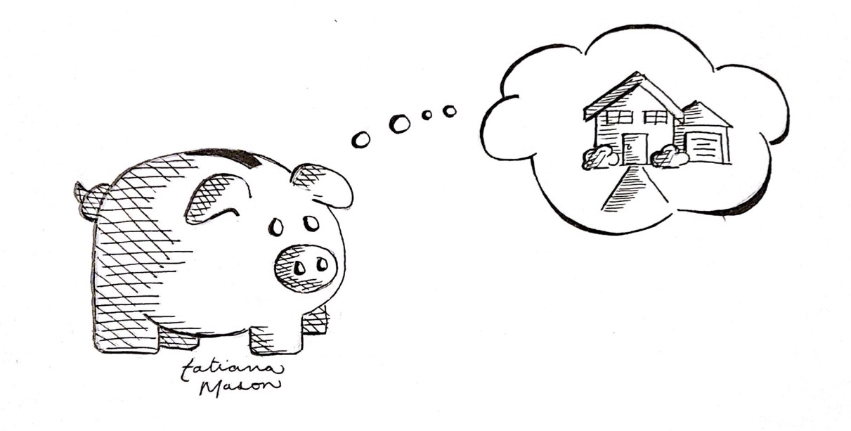 How to budget how to save how to make your down payment for Down payment to build a house